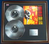 Guns N' Roses - Double Platinum Disc + Cover - Use Your Illusion I
